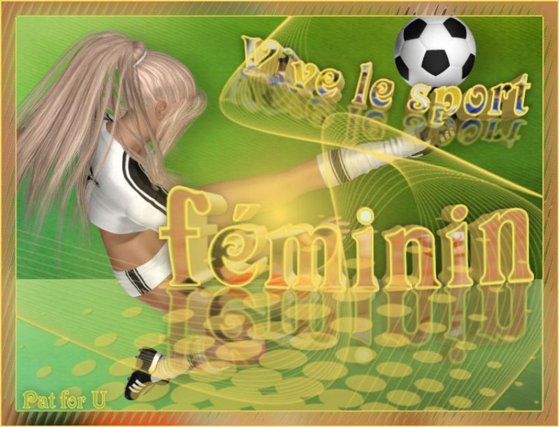 Vive le sport féminin 13072011